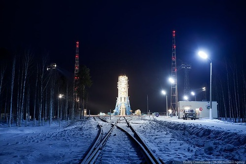 Russian communications satellite 'Meridian' launched by the Federal Space Agency