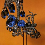 Symbol of strong belief, sapphire