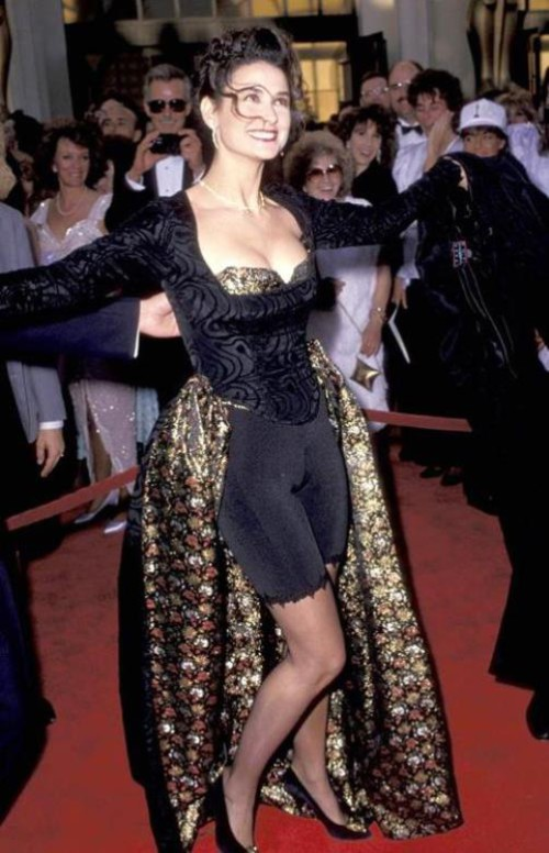 memorable Oscar dresses Demi Moore, 1989
