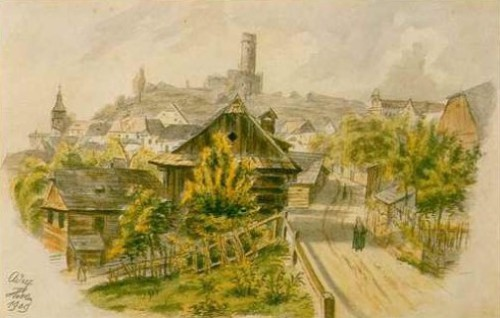 The Austrian town, 1908