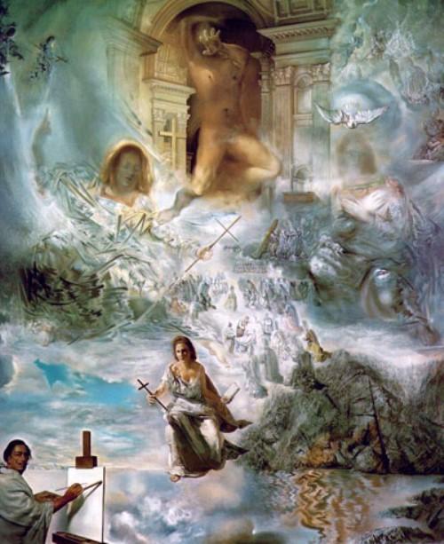 The Ecumenical Council by Salvador Dali
