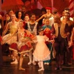 Dancers performing The Nutcracker ballet