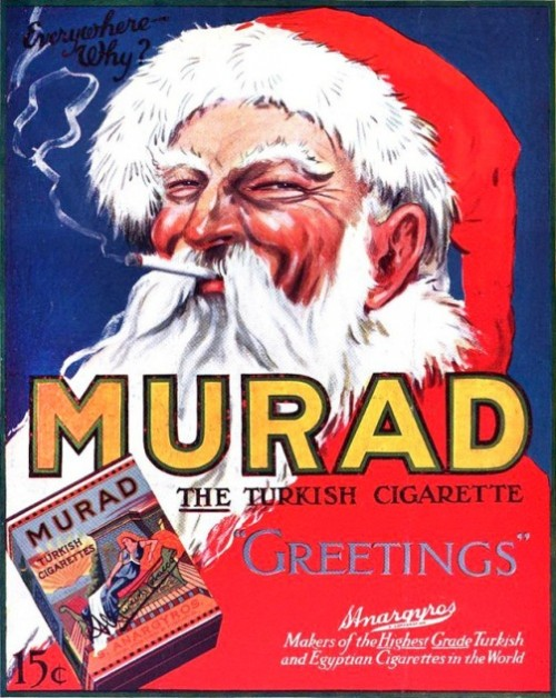The Turkish cigarettes Murad - your choice for Christmas
