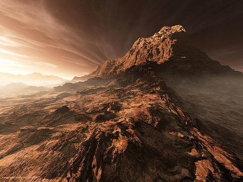 highest mountain in the solar system - photo #26