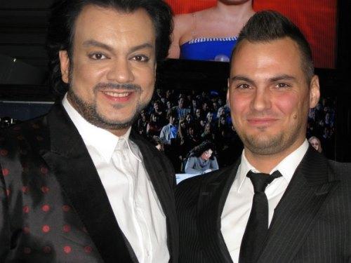 Vladimir Trezubov, Mister Russia 2013 and Philipp Kirkorov