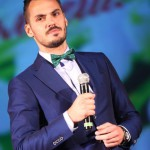 Happy winner of Mister Russia 2013 Vladimir Trezubov