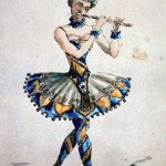 Vzevolozhsky's costume sketch for Nutcracker