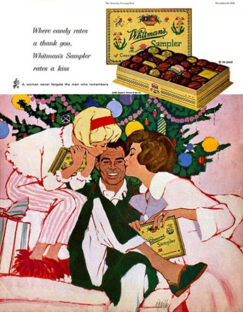 Whitman's Sampler rates a kiss