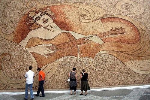 World Largest Mosaics by Saimir Strati