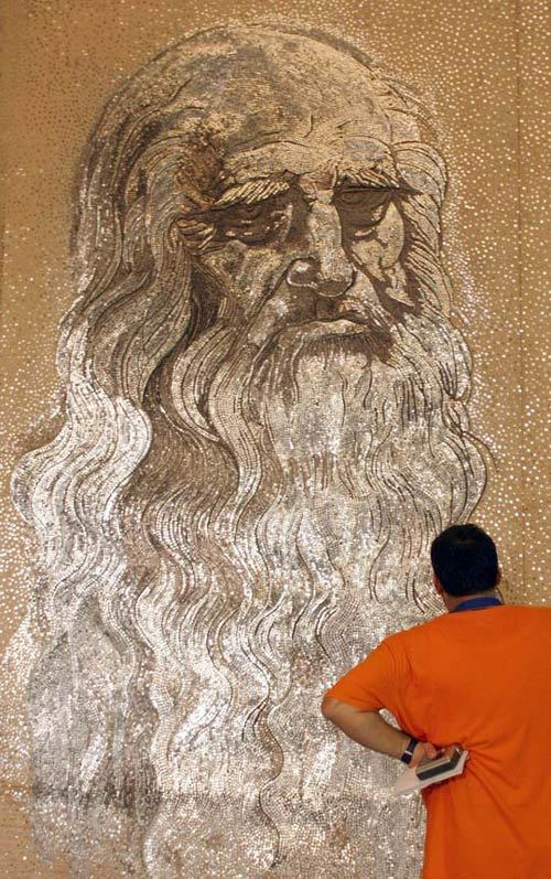 World Largest Mosaics by Saimir Strati