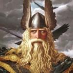 Folk hero. Painting by Russian artist Konstantin Vasilyev