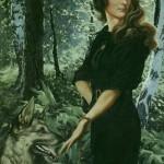 Portrait. Painting by Konstantin Vasilyev Russian artist