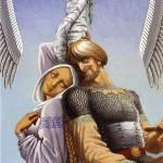 Love song. Painting by Russian artist Konstantin Vasilyev