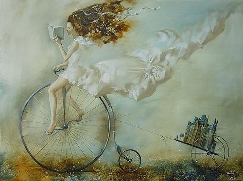 Painting by Belarusian artist Oleg Tchoubakov