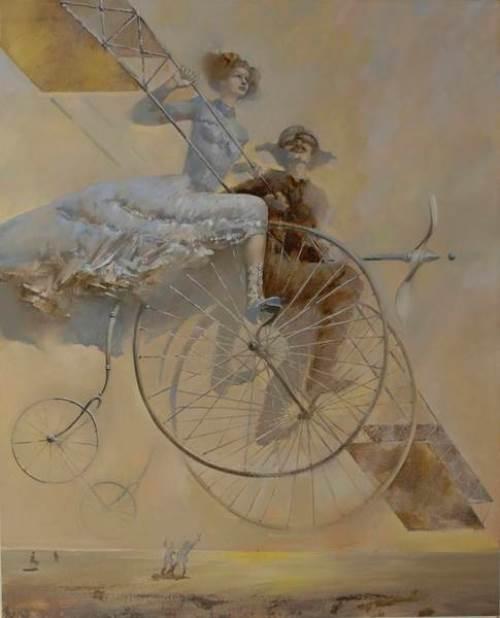 Belarusian painter Oleg Tchoubakov