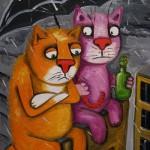 painting by Russian artist Vasya Lozhkin