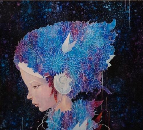 Modern Japanese Painting by Yoskay Yamamoto