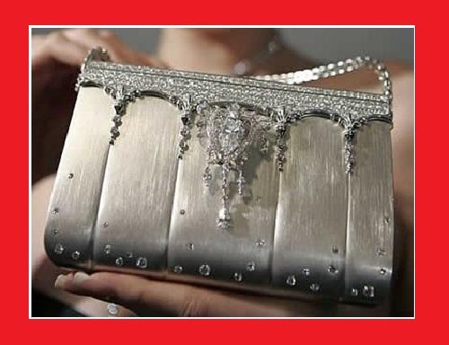 Diamond platinum bag
