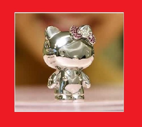 Platinum Hello Kitty. Life is not fair