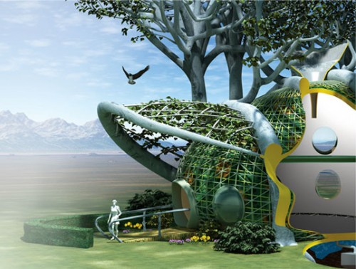 Fab Tree Town - Design to Improve Life by MIT designers – Mitchell Joachim, Lara Greden and Javier Arbona