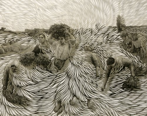 paper art by Georgia Russell