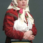 Russian folk costume