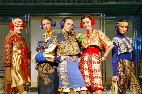 Ethnic Russian clothes