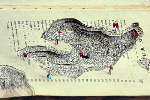 Papercut art by Kyle Kirkpatrick