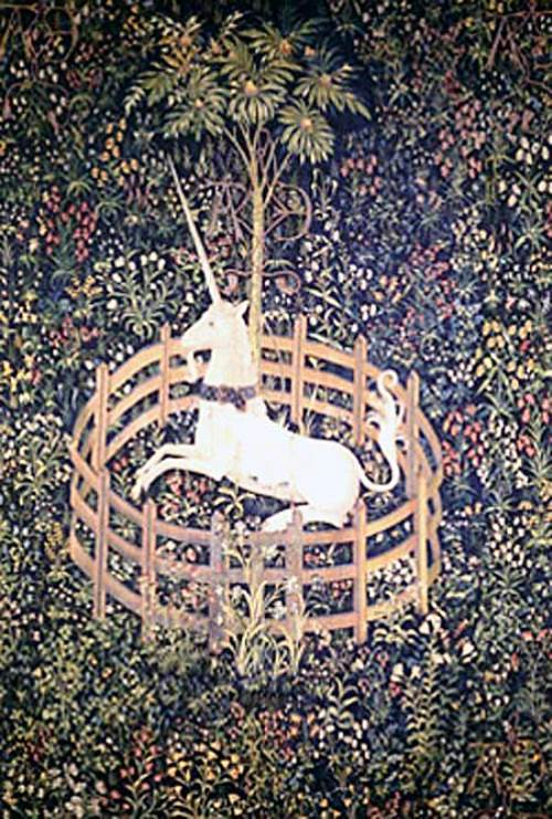 The Unicorn Is Penned, Unicorn Tapestries, 1495–1505 (The Cloisters, Metropolitan Museum of Art, New York City)