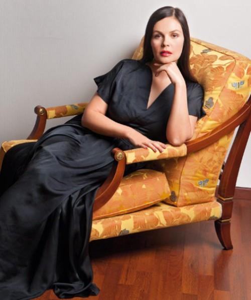 Beautiful Russian journalist, actress and TV presenter Ekaterina Andreeva