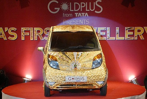 The Worlds first jewellery car of Gold