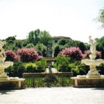 The Boboli Gardens in Florence, Italy, that is home to a collection of sculptures dating from the 16th through the 18th centuries, with some Roman antiquities