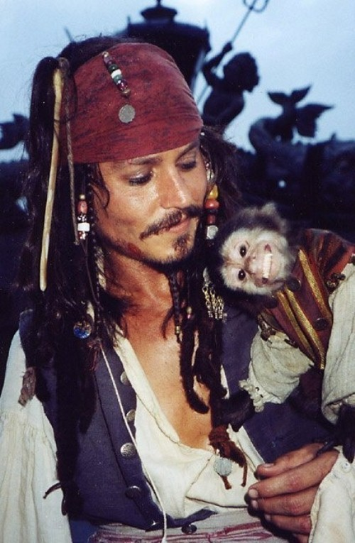 Life's pretty good, and why wouldn't it be? I'm a pirate, after all. Johnny Depp