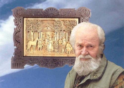 Russian artist Kronid Gogolev