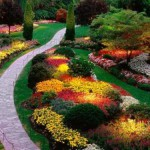 The Butchart Gardens, Brentwood Bay, British Columbia, Canada