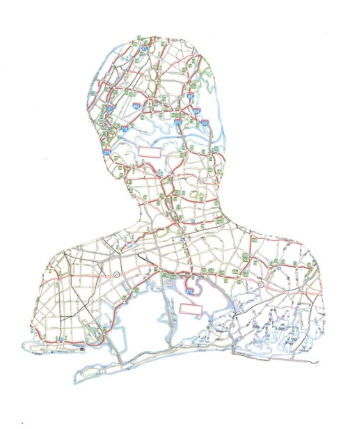 Portraits from maps
