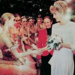 After Gala Performance with The Kirov Ballet (Russia) at The Covent Garden Opera House stage (1994)