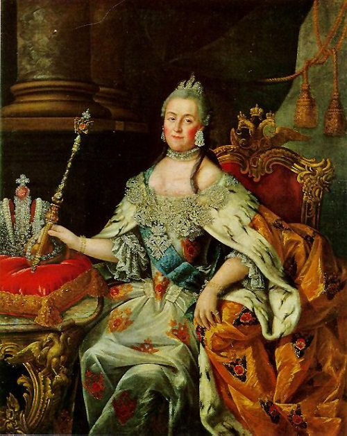 Alexei Petrovich Antropov's portrait of Catherine the Great