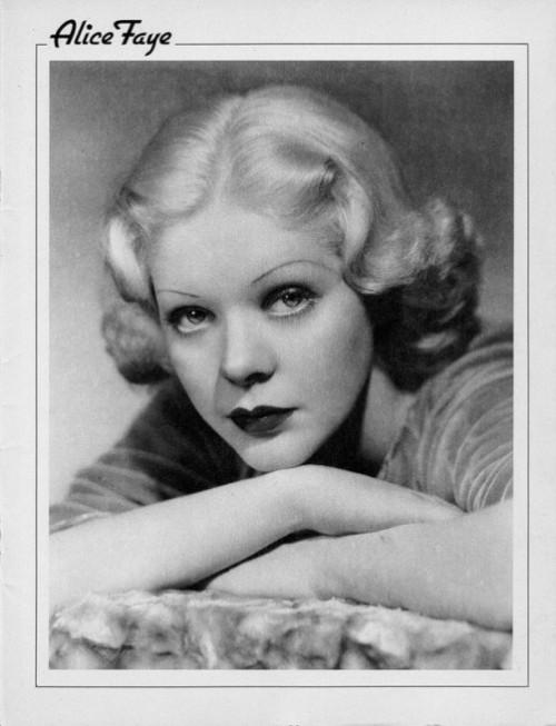 Hollywood Walk Of Fame. Alice Faye (May 5, 1915 – May 9, 1998)