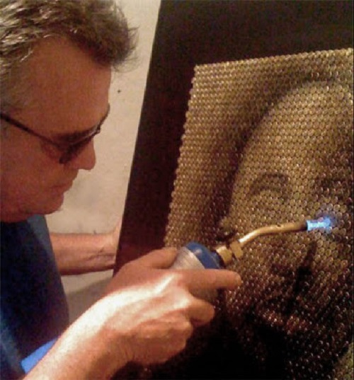 American artist David Palmer