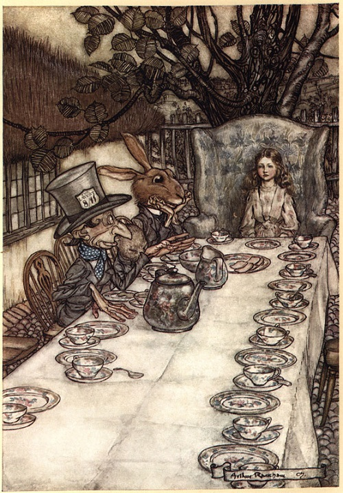 Arthur Rackham (1867-1939) Mad Tea Party