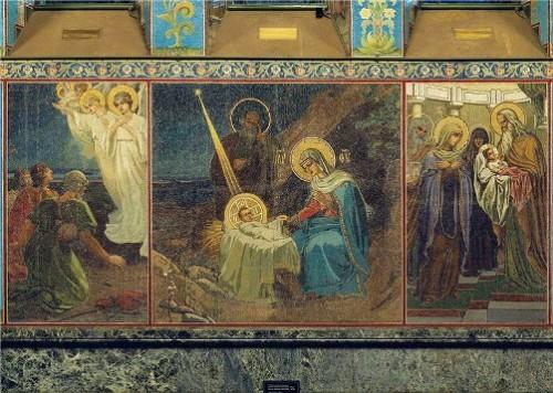 Ascension of Christ (the artist V. Pavlov)