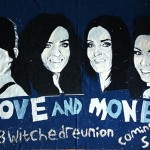 B Witched DENIM Art by Welsh artist Nathan Wyburn