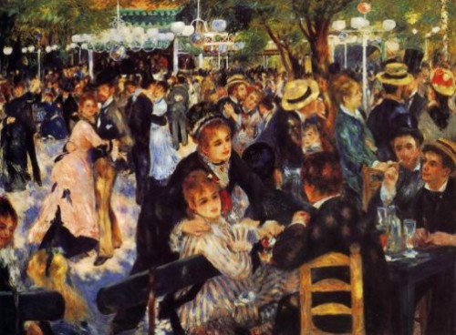 Most Expensive sold Paintings, Montmartre by Pierre-Auguste Renoir