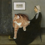 Cats adore nice old ladies