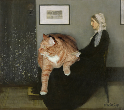 Fat cat Zarathustra
