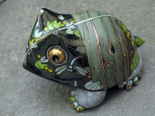 Ceramic fantasy by Anna Stasenko and Slava Leontiev