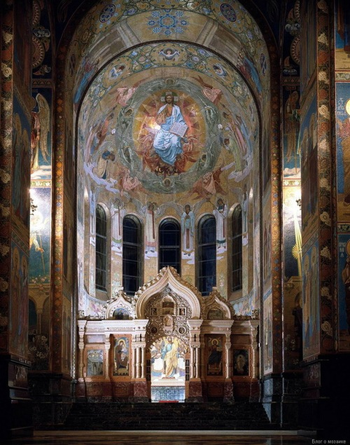Christ in Glory (artist NN Kharlamov)