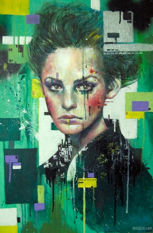 Colorful Illustrations by Minjae Lee