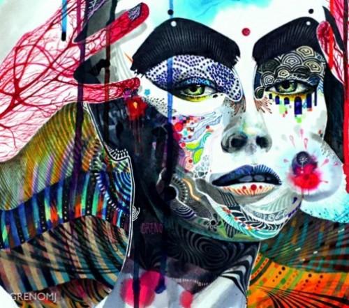 Colorful Illustrations by South Korean artist Minjae Lee